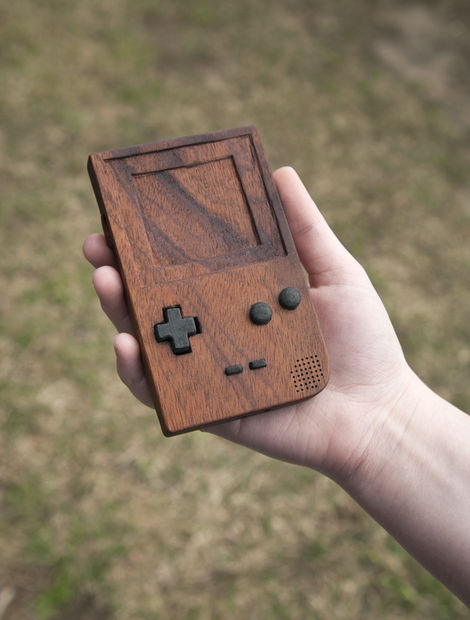 Wooden Game Boy