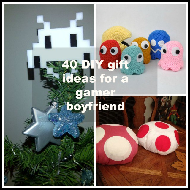 40 diy gift surprise ideas for a gamer boyfriend or girlfriend negle Image collections