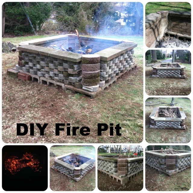 Home Design Ideas Build: 39 DIY Backyard Fire Pit Ideas You Can Build