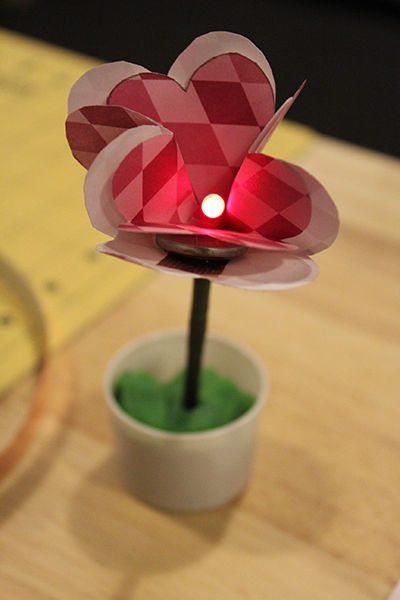 LED Paper Flower Instructables