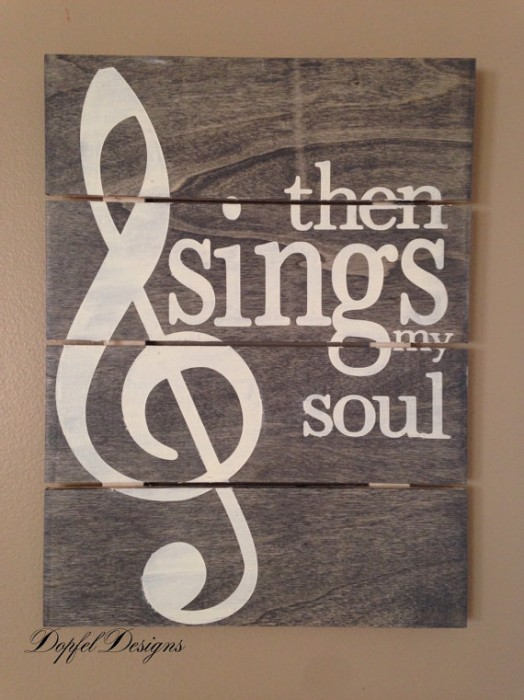 Wood Sign Design Ideas 25 best ideas about wedding pallet signs on pinterest pallet picture display pallet wedding and country wedding decorations Then Sings My Soul