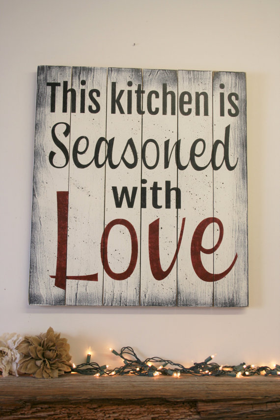 This Kitchen Is Seasoned With Love Bigdiyideas Com