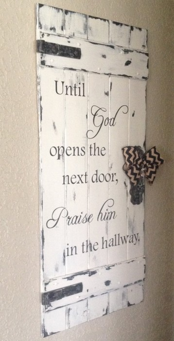 Until God Opens the Next Door