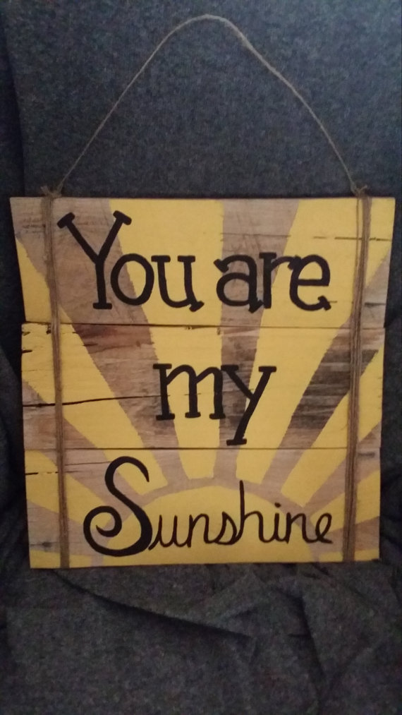 You Are My Sunshine Bigdiyideas Com