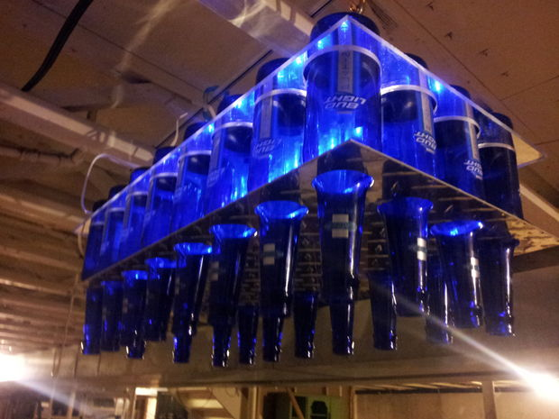 Beer Bottle Chandelier Bigdiyideas Com