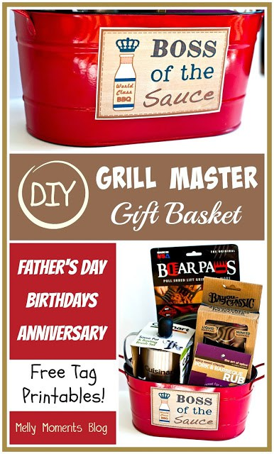 32 homemade gift basket ideas for men diy grill master gift basket solutioingenieria Choice Image