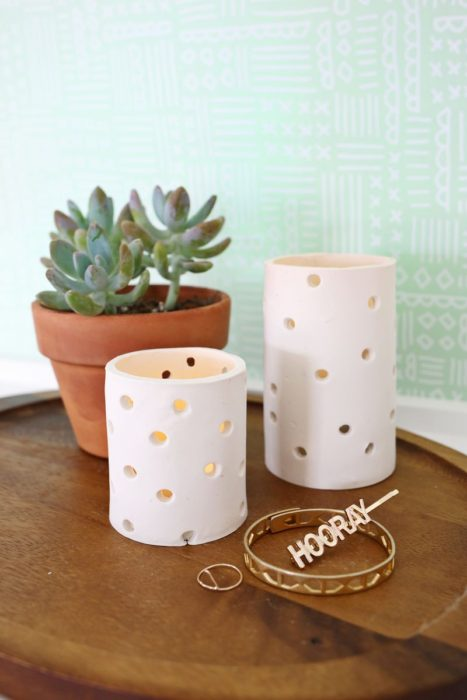 Easy Clay Voltive DIY