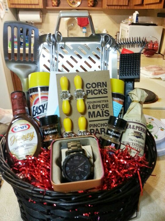 Fathers day bbq gift basket for Christmas gifts for 30 year old man
