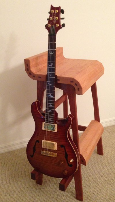 Guitar Playing Stool Bigdiyideas Com