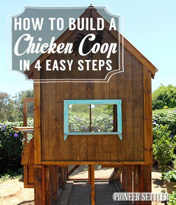36 diy backyard chicken coops