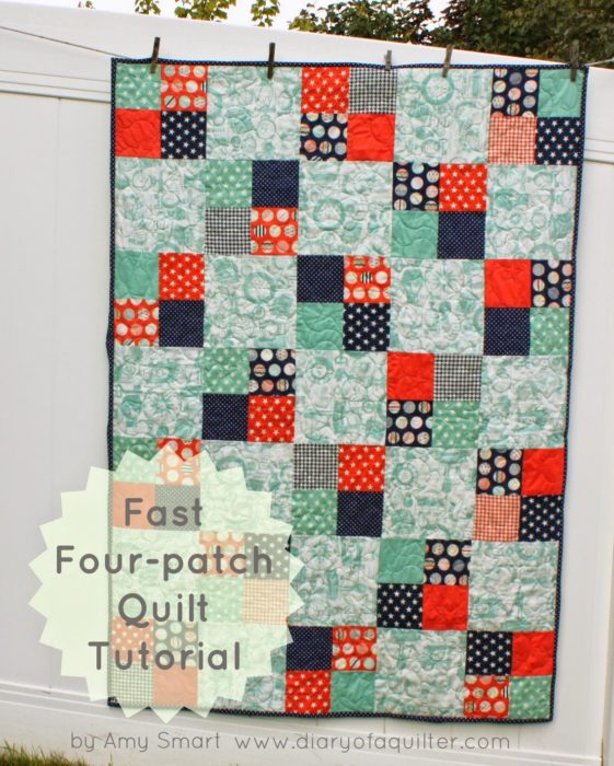 40 Easy Quilt Patterns For The Newbie Quilter : beginner quilt blocks - Adamdwight.com