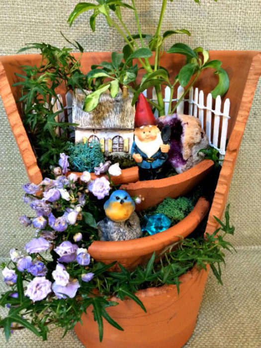 Gnome Garden Ideas fairy garden ideas better gnomes and fairy gardens Home For A Gnome