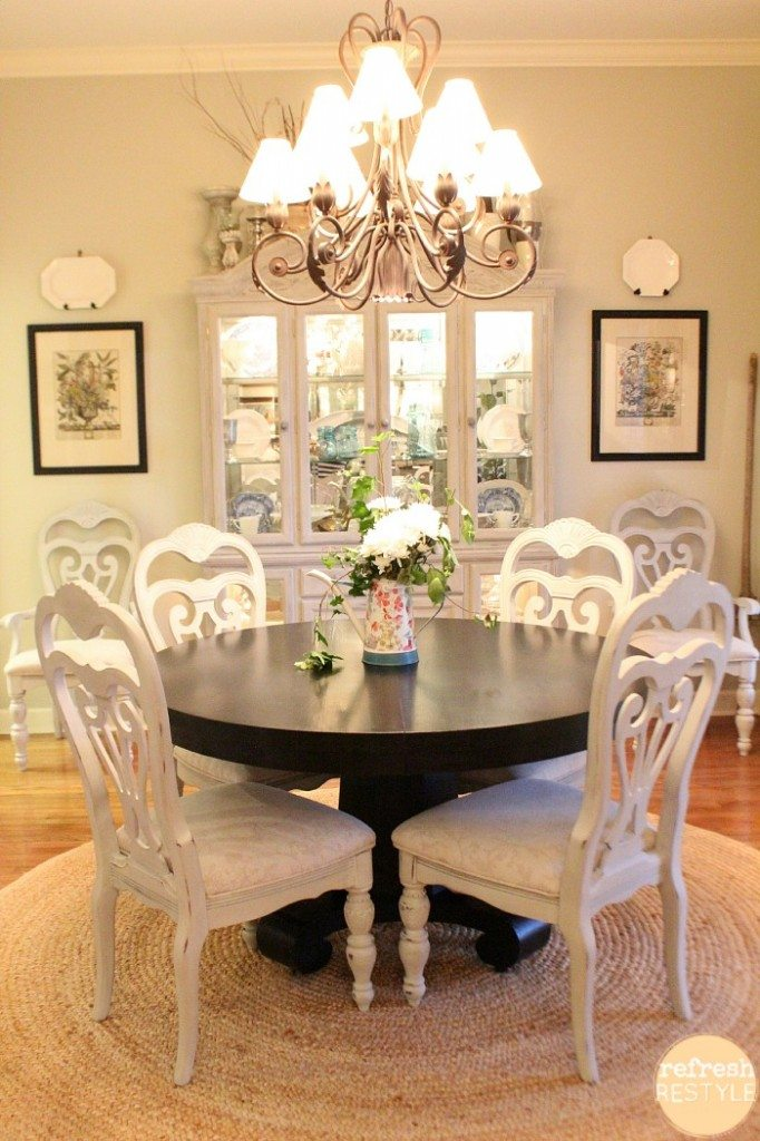Spray paint dining room chairs - Painting dining room ...