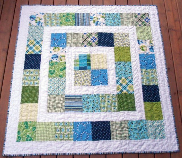 Easy Quilt Patterns For Baby : 40 Easy Quilt Patterns For The Newbie Quilter