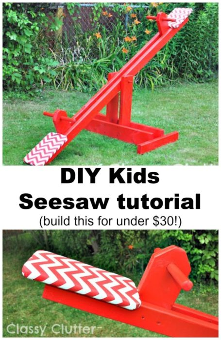 DIY Kids Seesaw for Under 30