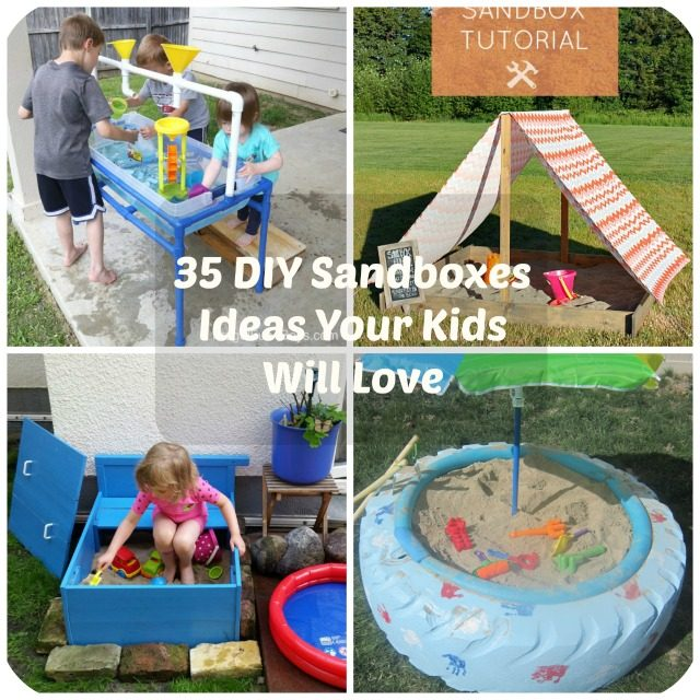 Backyard Sandbox Ideas the polohouse bachmans idea house fall 2012 canopy covered shaded dog sandbox One Of The Best Things About Making A Diy Project For Your Family Is Knowing That They Will Enjoy Using It Regularly Thats Why Were So Happy To Share