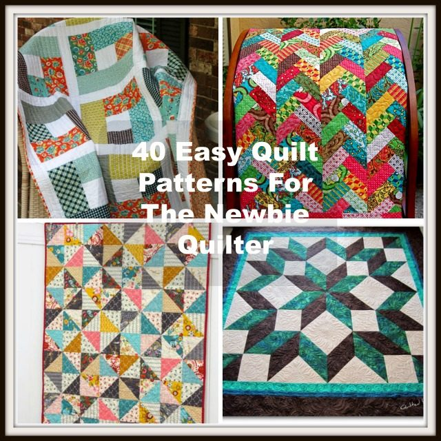 40 easy quilt patterns for the newbie quilter solutioingenieria
