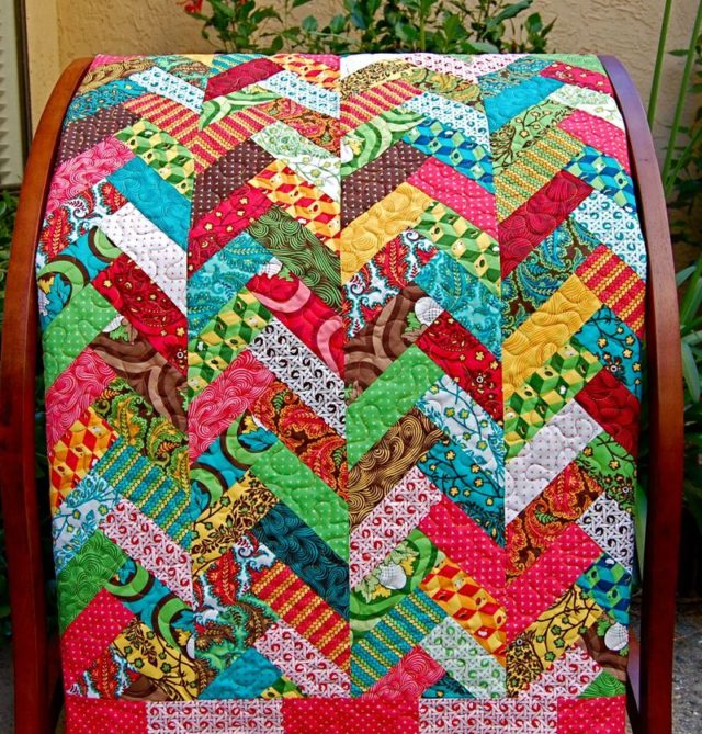 French Braid Quilt