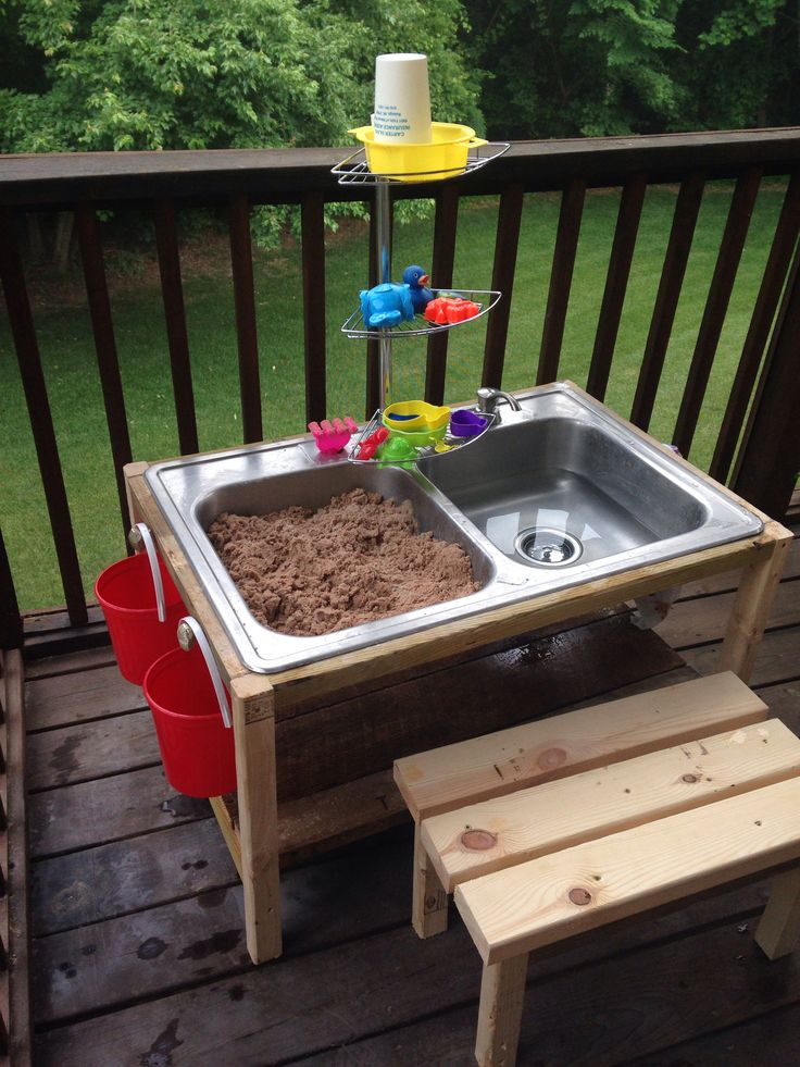 Play Sand Table Bigdiyideas Com