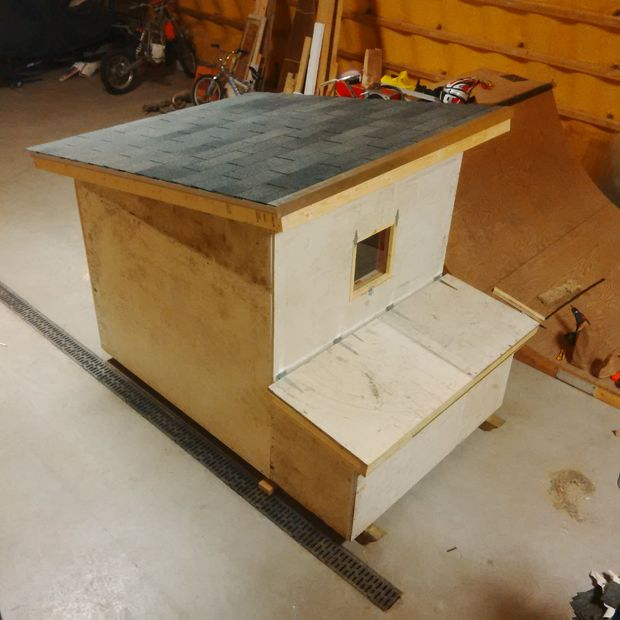 Chicken Coop from Scratch