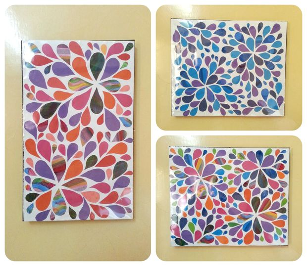 Wall Designs With Craft Paper : Diy fun wall art bigdiyideas