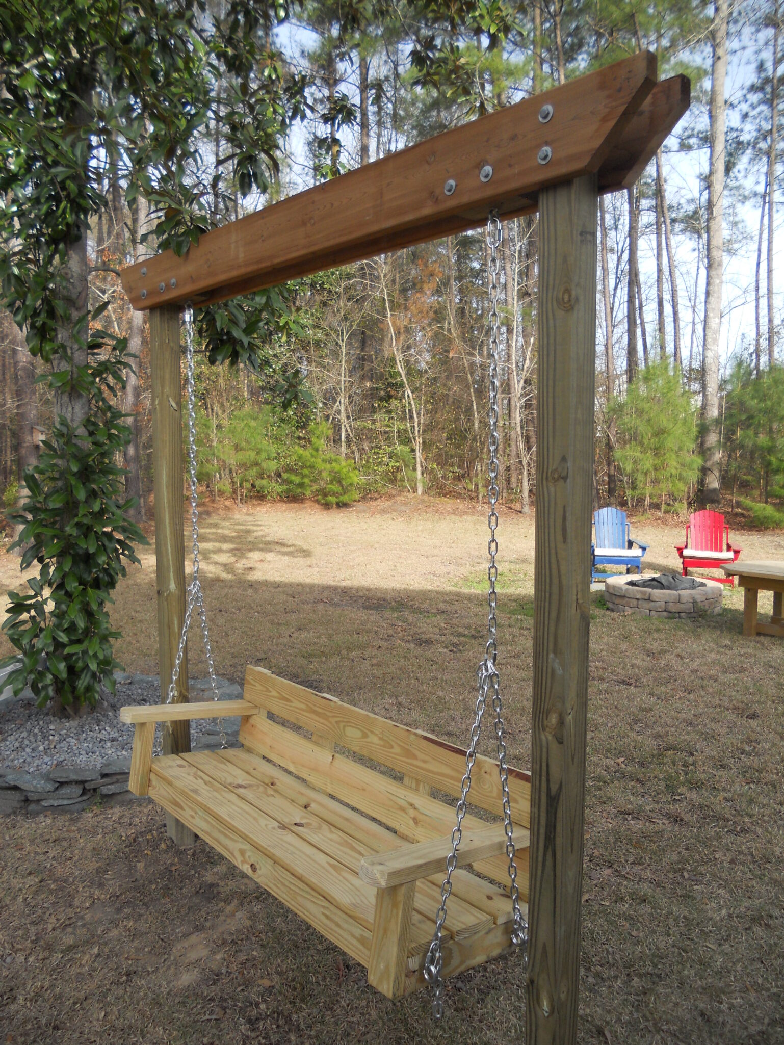 Modified Bench Swing Bigdiyideas Com