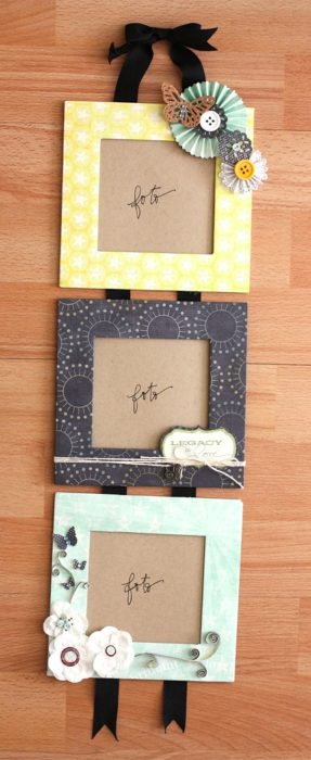 40 diy picture frames you can make  u0026 sell