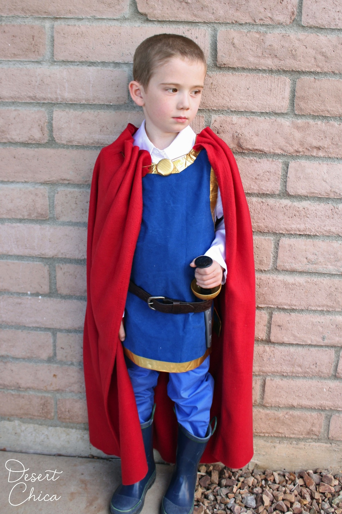 Easy Snow White Prince Costume Bigdiyideas Com