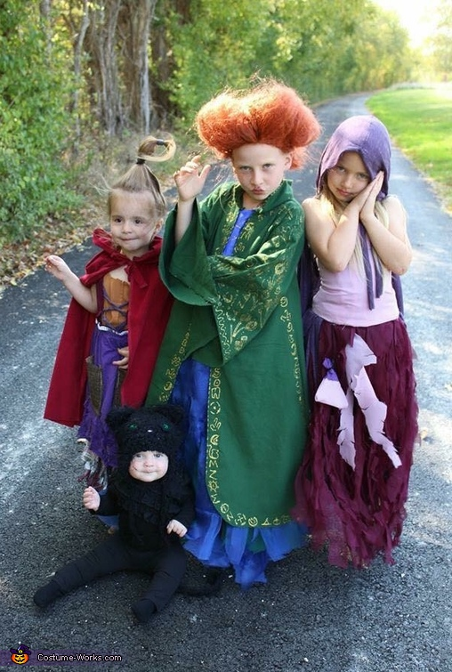 Hocus Pocus Costumes For Kids Bigdiyideas Com