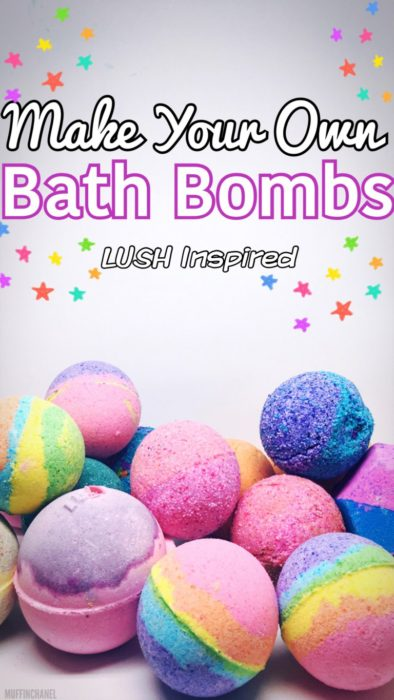 Make Your Own Bath Bombs Lush Inspired
