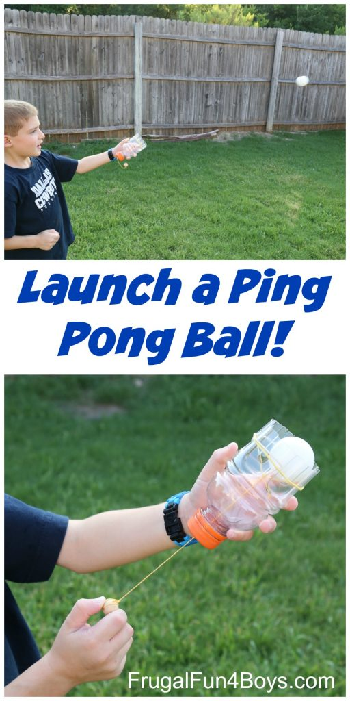 Make A Ping Pong Ball Launcher Bigdiyideas Com