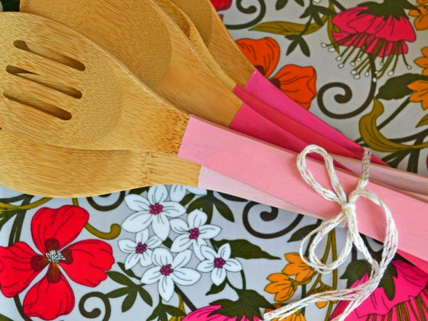 Paint Dipped Utensils