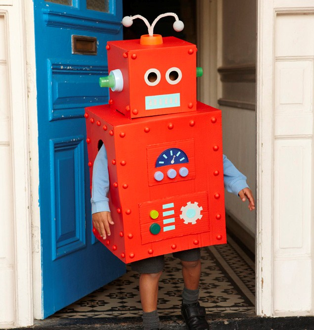how to make an easy robot that kids can make