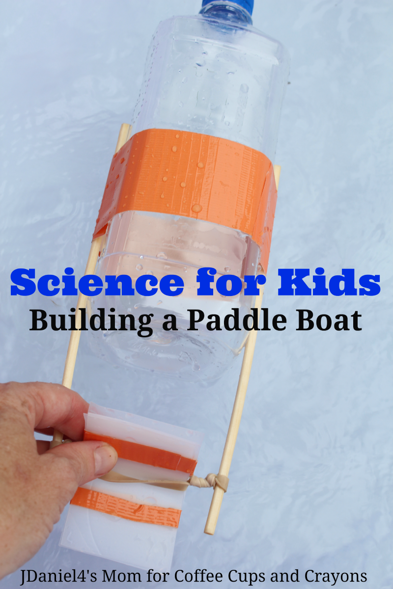 Science For Kids Build A Paddle Boat Bigdiyideas Com