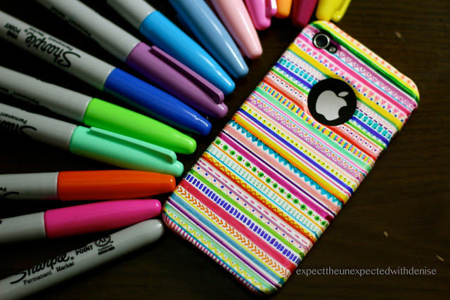 DIY: Tribal print iPhone case