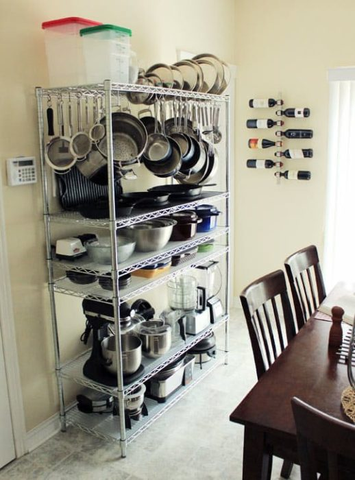 Smart Ideas For Kitchen Storage: 40 Clever Storage Ideas For A Small Kitchen