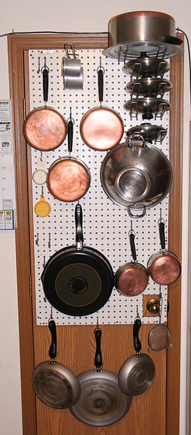 Diy Kitchen Pot Rack Bigdiyideas Com