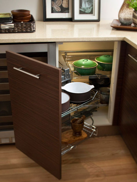Small Appliances Under Cabinet