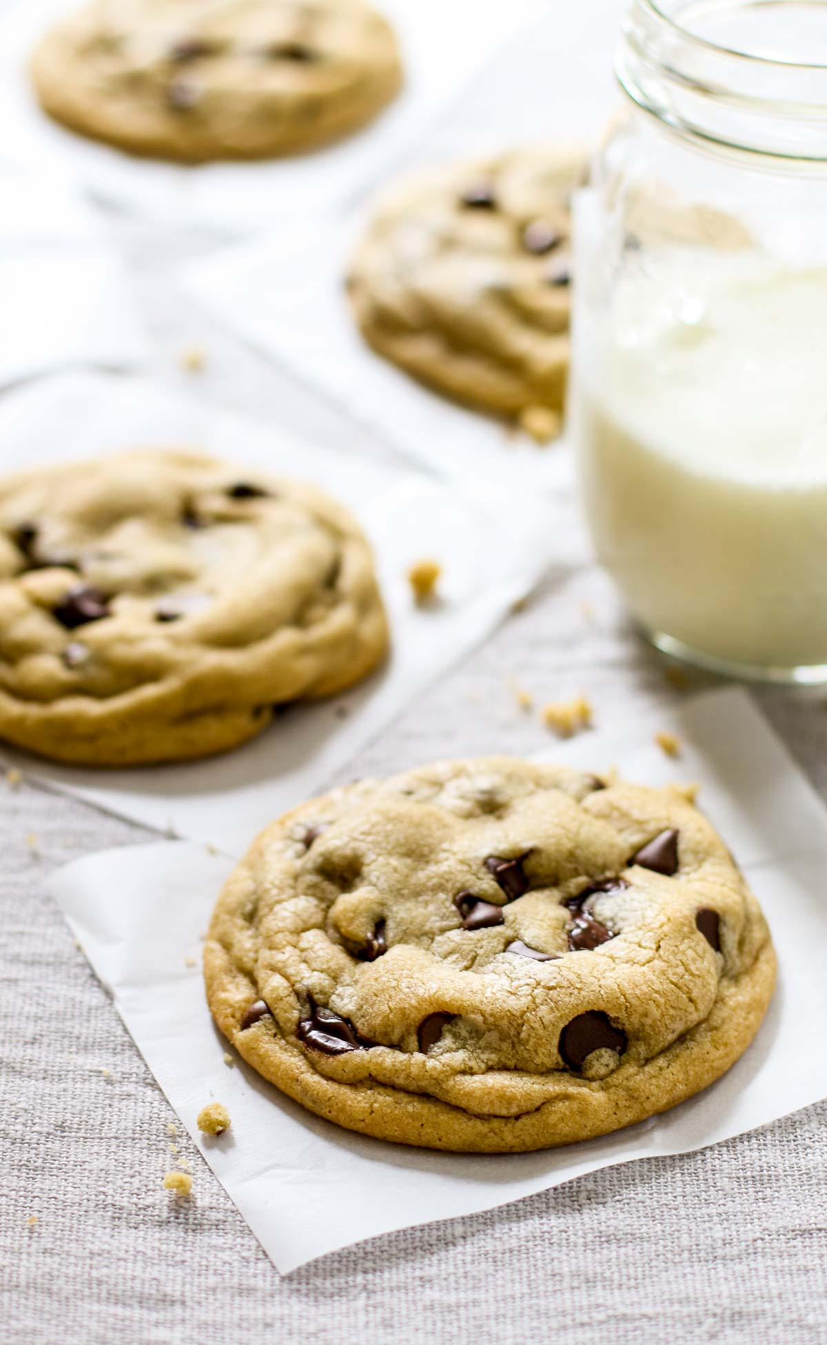 Chocolate Chip Cookies With Shortening And No Brown Sugar