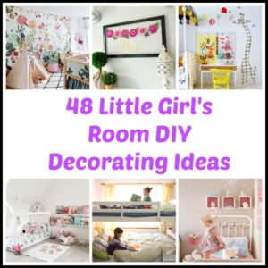 48 DIY Decorating Ideas for a Little Girl's Room