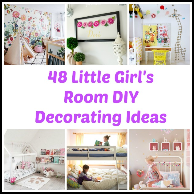 48 diy decorating ideas for a little girl 39 s room - Designing idea about decorating a girls room ...