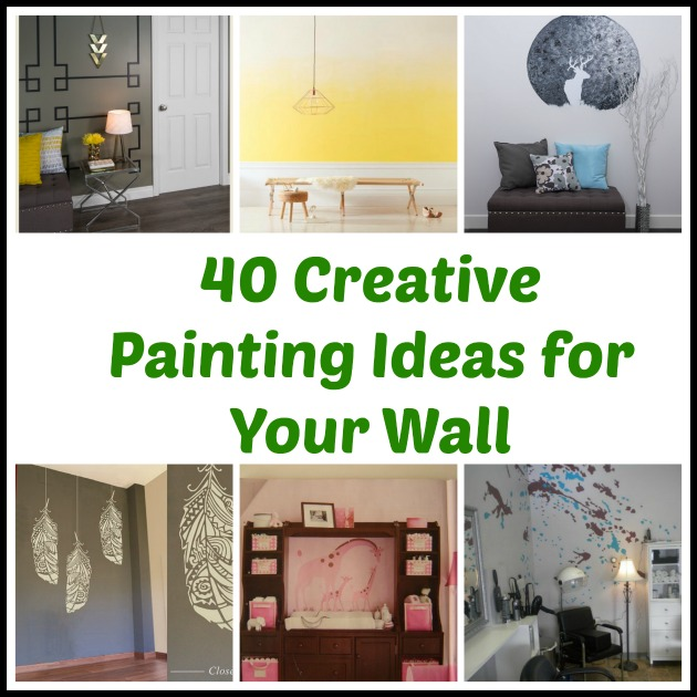 40 Creative Painting Ideas For Your Wall