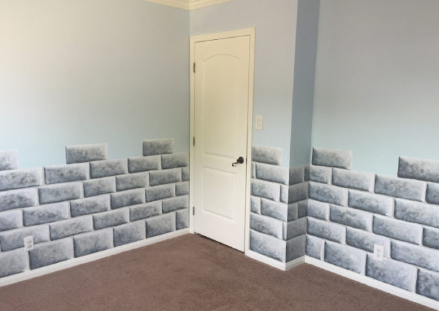 How To Paint A Castle Wall Part 6