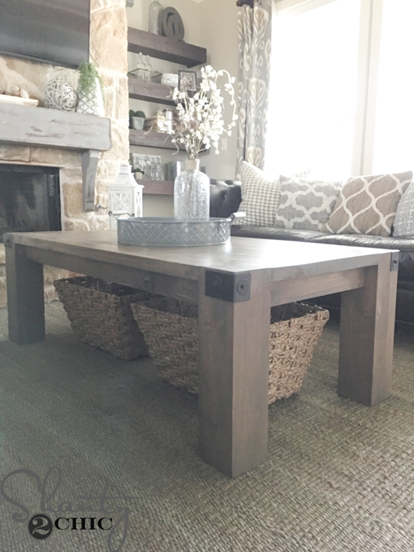 Modern farmhouse coffee table for Modern farmhouse coffee table