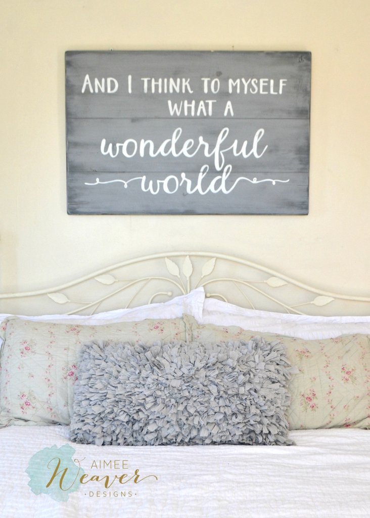 What A Wonderful World Bigdiyideas Com
