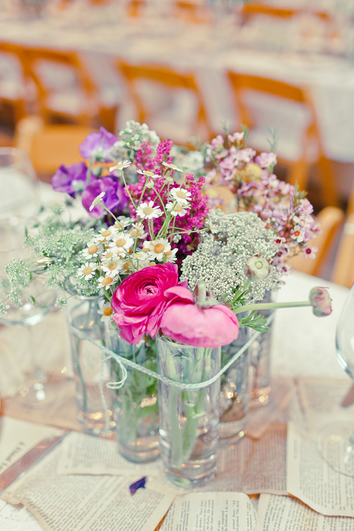 Simple rustic wedding centerpieces bigdiyideas