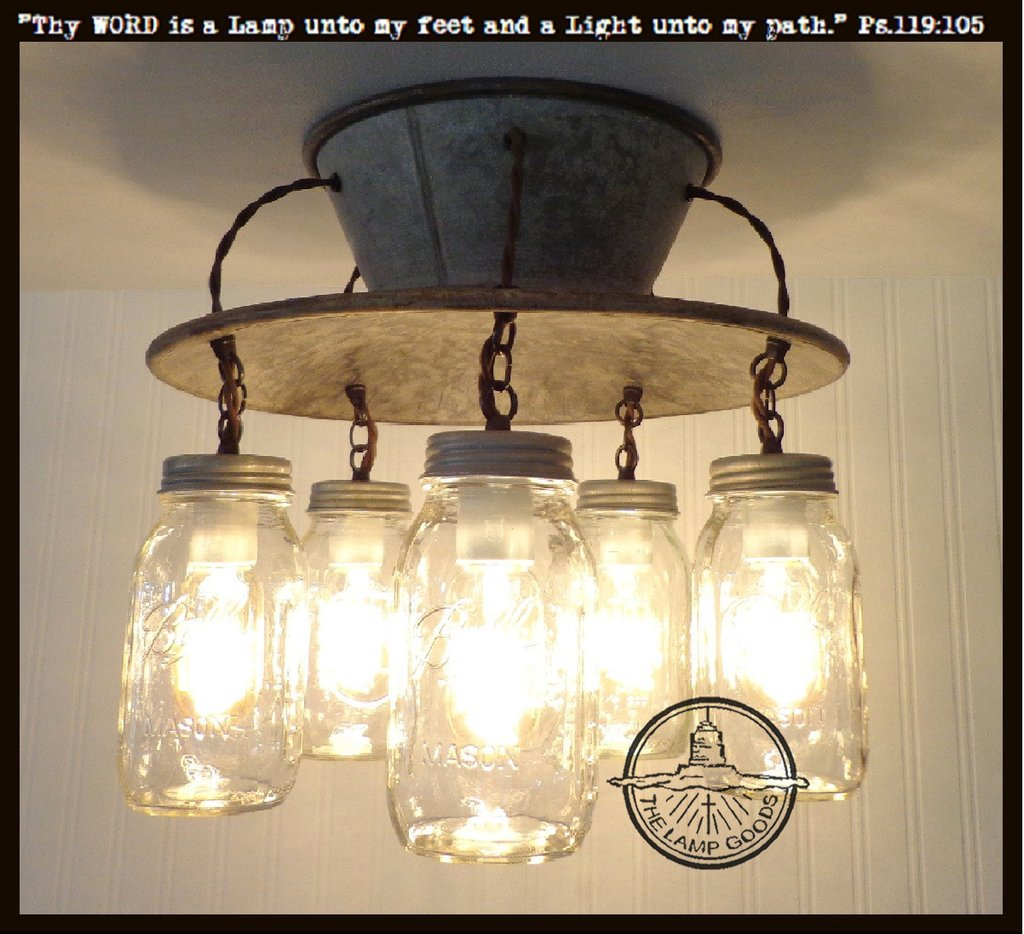 Diy Bathroom Lighting Ideas With Original Images: An Exclusive Lamp Good Mason Jar Light Fixture