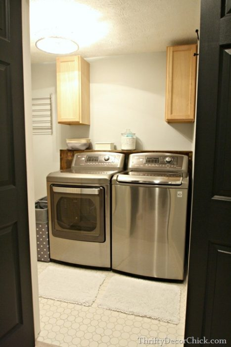 Laundry Room Before Amp After Makeover Amp Layout Ideas