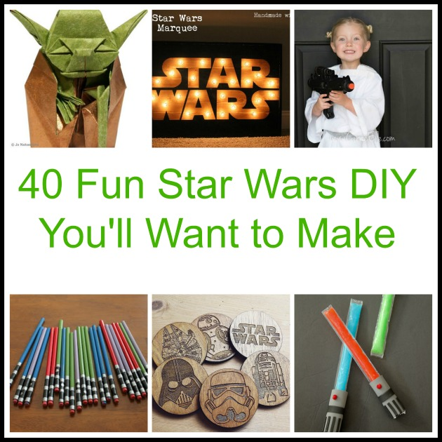 40 Fun Star Wars DIY You'll Want to Make