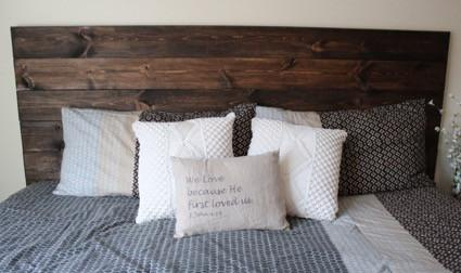 40 easy diy headboard ideas for a stylish bedroom - Make your own headboard ...